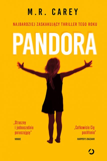 Pandora - M.R. Carey | okładka