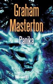 Panika - Graham Masterton | okładka