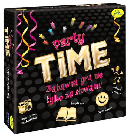 Party Time (dawniej Party Alias) - gra planszowa -  | okładka