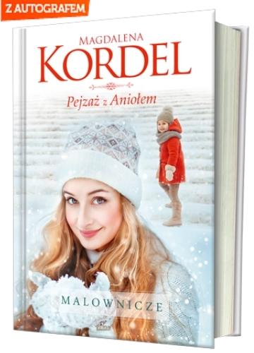 32fda24fb4358 Pejzaż z Aniołem   Magdalena Kordel - Księgarnia znak.com.pl