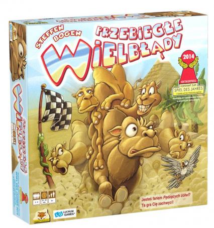 Przebiegłe wielbłądy - gra planszowa - Steffen Bogen | okładka