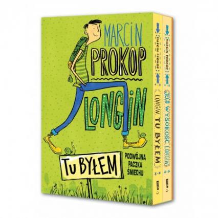 Tu byłem + Jego wysokość Longin - pakiet - Marcin Prokop | okładka