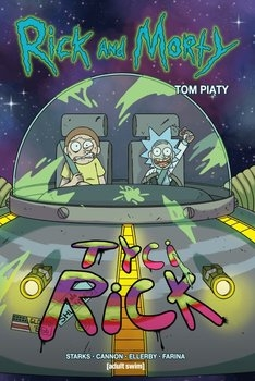 Rick i Morty. Tom 5 - Marc Ellerby; Kyle Starks | okładka