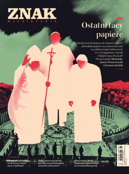 ZNAK 780 05/2020: Ostatni tacy papieże -  | okładka