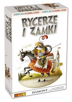 RYCERZE I ZAMKI – gra planszowa -  | okładka