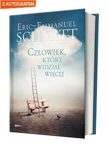 Człowiek, który widział więcej - Eric-Emmanuel Schmitt | okładka
