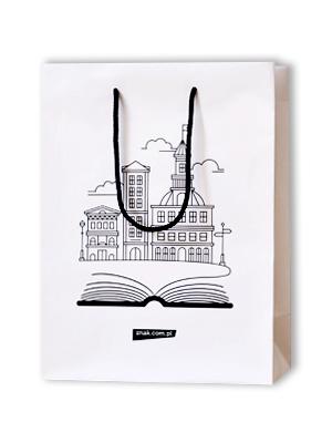 Torba prezentowa na książki (średnia) -  | okładka