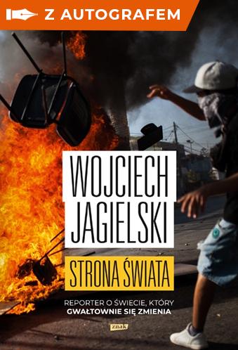 Strona świata - autograf - Wojciech Jagielski   okładka