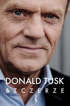 Szczerze - Donald Tusk | okładka