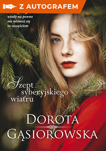 Szept syberyjskiego wiatru - Dorota Gąsiorowska | okładka