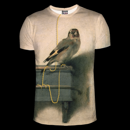 Szczygieł t-shirt, rozmiar L -  | okładka