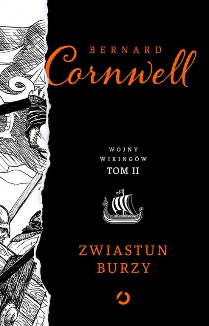 Zwiastun burzy - Bernard Cornwell | okładka