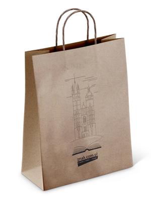 Ekologiczna torba papierowa na książki  -    okładka