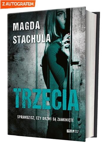 Trzecia - Magda Stachula | okładka
