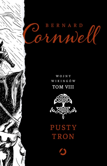 Pusty tron.Tom 8 - Bernard Cornwell | okładka