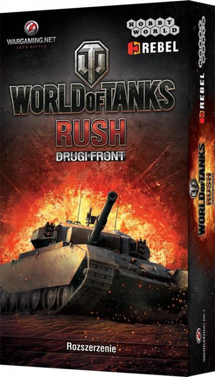 World of Tanks: Rush - Drugi Front - dodatek do gry karcianej World of Tanks: Rush