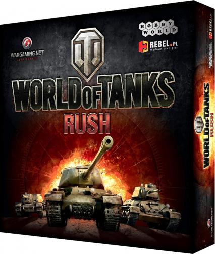 World of Tanks: Rush - gra karciana -  | okładka