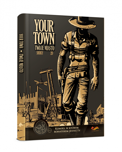 Komiksy paragrafowe. Your Town. Twoje miasto -  | okładka