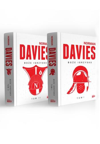 Boże Igrzysko - dwa tomy - pakiet - Norman Davies | okładka