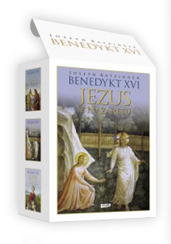 """Pakiet """"Jezus z Nazaretu"""" - Benedykt XVI   okładka"""