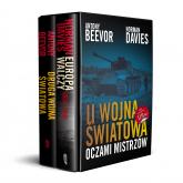 Pakiet: II Wojna Światowa Oczami Mistrzów - Anthony Beevor, Norman Davies   mała okładka