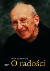 O radości  - o. Leon Knabit  | mała okładka