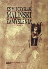 Zamyślenia - ks. Mieczysław Maliński  | mała okładka