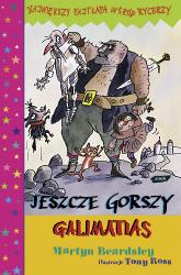 Jeszcze gorszy Galimatias - Martyn Beardsley  | mała okładka
