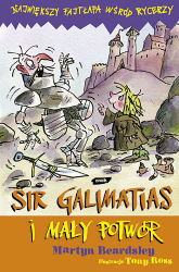 Sir Galimatias i mały potwór - Martyn Beardsley  | mała okładka