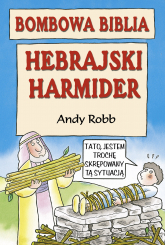 Bombowa biblia. Hebrajski harmider - Andy Robb  | mała okładka