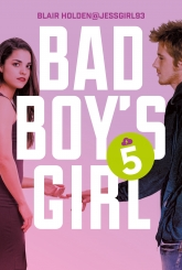 Bad Boy's Girl. Tom 5 - Blair Holden | mała okładka