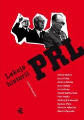 Lekcje historii PRL - Andrzej Brzeziecki | mała okładka