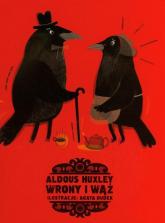Wrony i wąż - Aldous Huxley | mała okładka