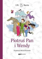 Piotruś Pan i Wendy - J.M. Barrie  | mała okładka
