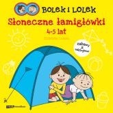 Bolek i Lolek. Słoneczne łamigłówki - Elżbieta Lekan  | mała okładka