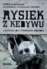 Rysiek z Kedywu. Niezwykłe losy Stanisława Aronsona - Patrycja Bukalska  | mała okładka