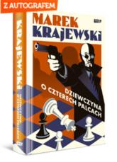 Dziewczyna o czterech palcach - Marek Krajewski | mała okładka