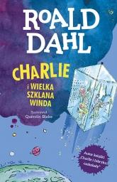Charlie i Wielka Szklana Winda. Lektura z opracowaniem [wyd. 2020] - Roald Dahl | mała okładka