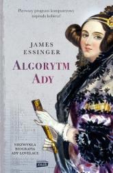 Algorytm Ady - James Essinger  | mała okładka