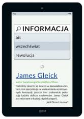 Informacja. Bit, wszechświat, rewolucja - James Gleick  | mała okładka
