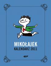 Mikołajek. Kalendarz książkowy 2011 - René Goscinny  | mała okładka