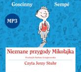 Nieznane przygody Mikołajka. Audio - René Goscinny, Jean-Jacques Sempé    mała okładka