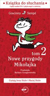 Nowe przygody Mikołajka. Kolejna porcja. Audio - René Goscinny  | mała okładka