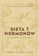 Dieta 7 hormonów. Ulecz swój metabolizm i schudnij w 3 tygodnie - Gottfried Sara | mała okładka