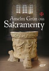 Sakramenty - Anselm Grün  | mała okładka