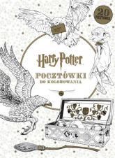 Harry Potter. Pocztówki do kolorowania - Opracowanie Zbiorowe | mała okładka