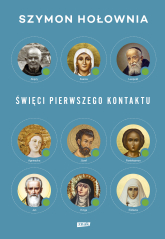 Święci pierwszego kontaktu - Szymon Hołownia | mała okładka