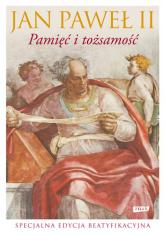 Pamięć i tożsamość. Rozmowy na przełomie tysiącleci - papież   Jan Paweł II  | mała okładka