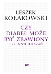 Czy diabeł może być zbawiony i 27 innych kazań - Leszek Kołakowski  | mała okładka