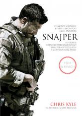 Snajper. Historia najniebezpieczniejszego snajpera w dziejach amerykańskiej armii. Wydanie filmowe - Chris Kyle, Scott McEwen, Jim DeFelice  | mała okładka